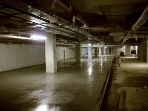 Garaże podziemne